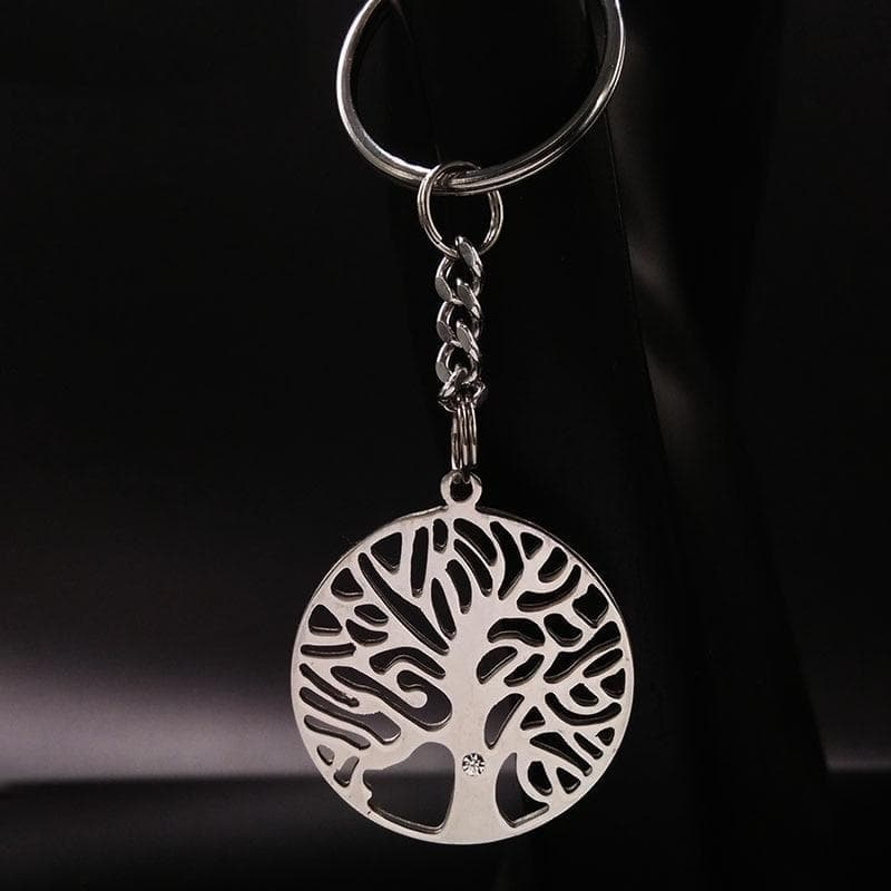 Celtic Tree of Life Stainless Steel Keychain Ancient Treasures Ancientreasures Viking Odin Thor Mjolnir Celtic Ancient Egypt Norse Norse Mythology