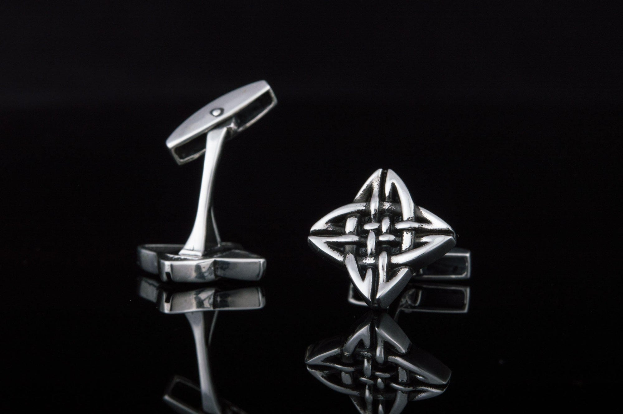 Cufflinks Celtic Knot Sterling Silver Handmade Cufflinks Ancient Treasures Ancientreasures Viking Odin Thor Mjolnir Celtic Ancient Egypt Norse Norse Mythology
