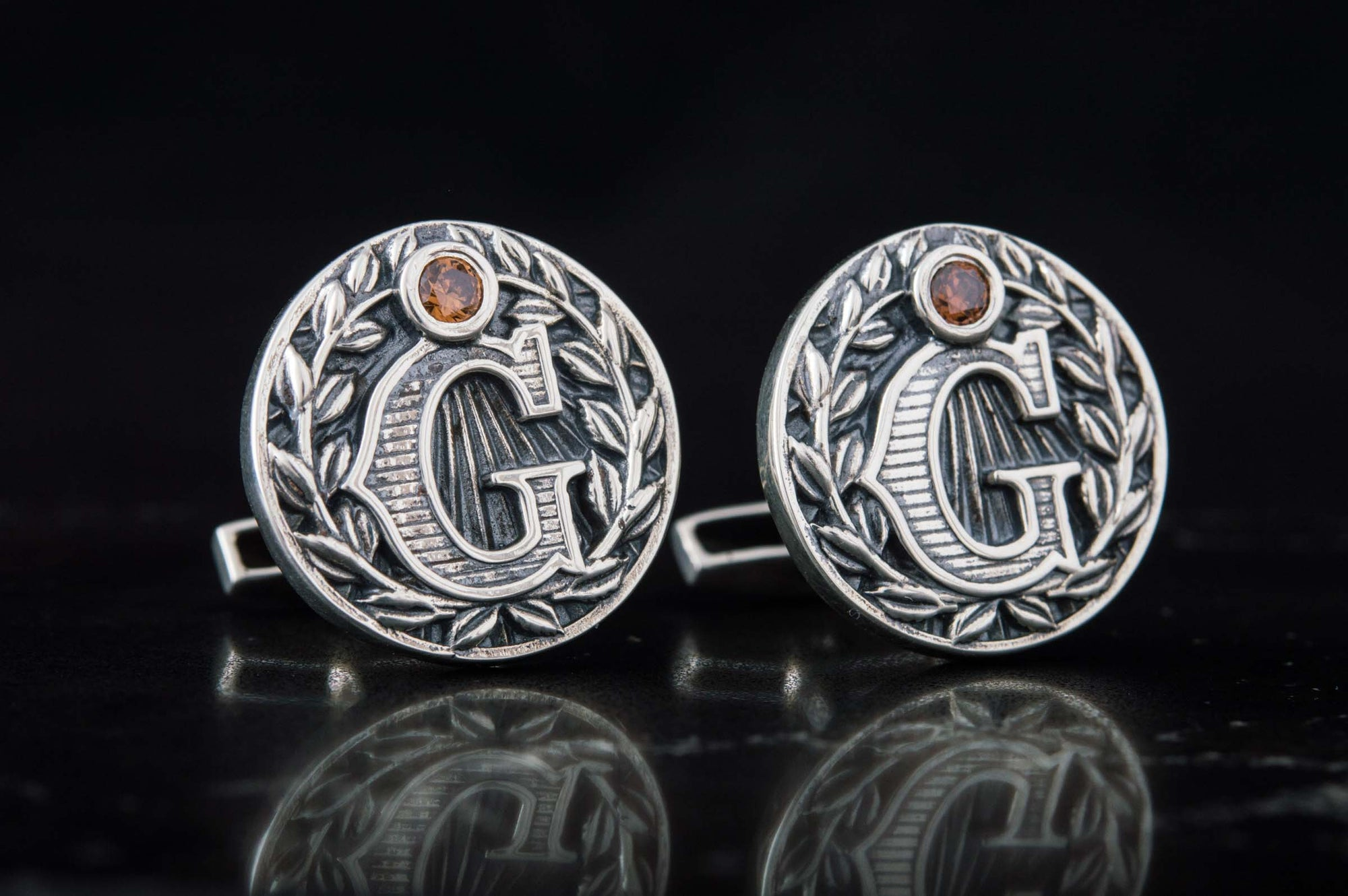Cufflinks Masonic Letter G Sterling Silver Handmade Cufflinks Ancient Treasures Ancientreasures Viking Odin Thor Mjolnir Celtic Ancient Egypt Norse Norse Mythology
