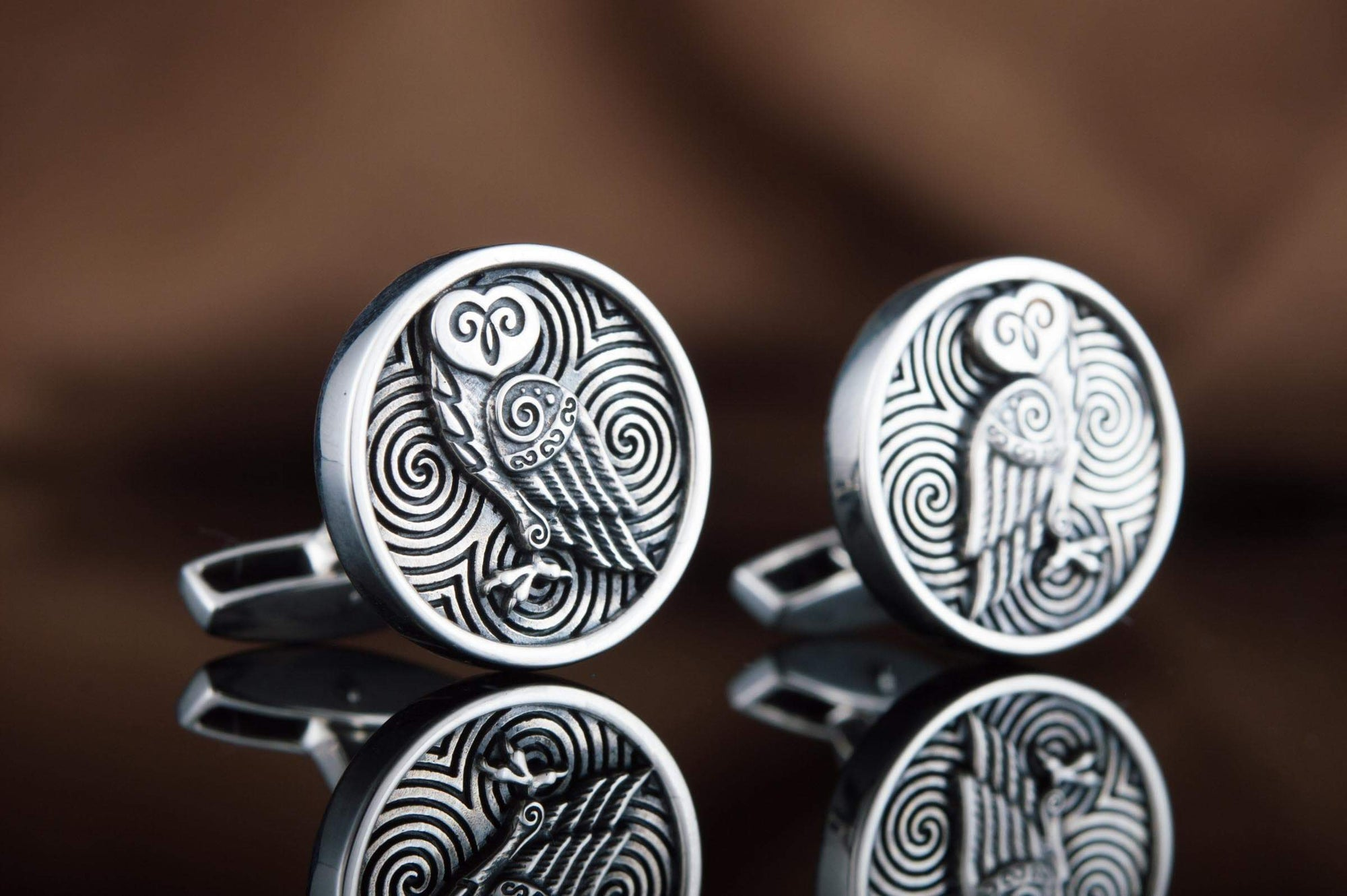 Vikings Unique Own Sterling Silver Cufflinks