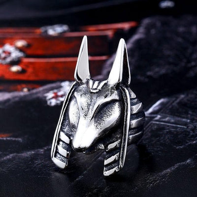 Egypt 7 / Silver Anubis' Ring Ancient Treasures Ancientreasures Viking Odin Thor Mjolnir Celtic Ancient Egypt Norse Norse Mythology