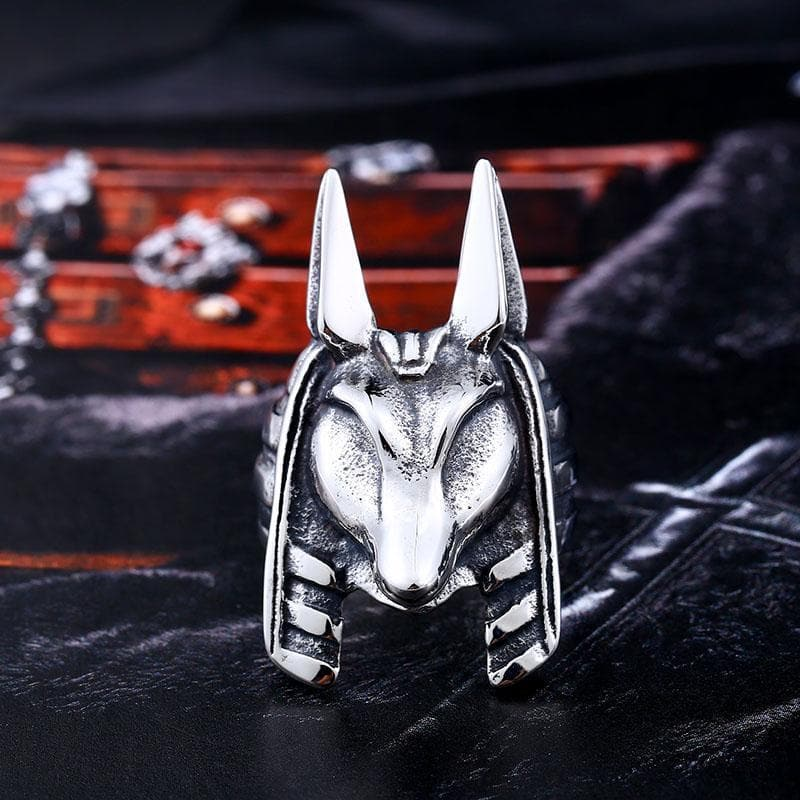Egypt Anubis' Ring Ancient Treasures Ancientreasures Viking Odin Thor Mjolnir Celtic Ancient Egypt Norse Norse Mythology