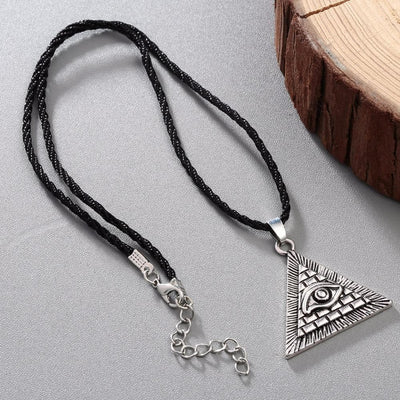 Egypt Egyptian Pyramid Eye Necklace Ancient Treasures Ancientreasures Viking Odin Thor Mjolnir Celtic Ancient Egypt Norse Norse Mythology