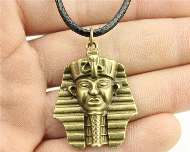 Egypt Pharaoh Necklace Series - Ramses Golden Ancient Treasures Ancientreasures Viking Odin Thor Mjolnir Celtic Ancient Egypt Norse Norse Mythology