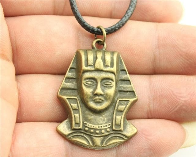 Egypt Pharaoh Series Necklace - Golden Ancient Treasures Ancientreasures Viking Odin Thor Mjolnir Celtic Ancient Egypt Norse Norse Mythology