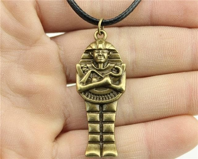 Egypt Pharaoh Series Necklace - Golden Mummy Ancient Treasures Ancientreasures Viking Odin Thor Mjolnir Celtic Ancient Egypt Norse Norse Mythology