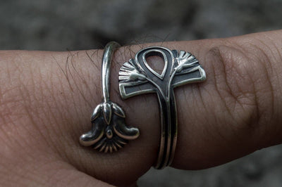 Egypt Sterling Silver Ankh Ring Ancient Treasures Ancientreasures Viking Odin Thor Mjolnir Celtic Ancient Egypt Norse Norse Mythology