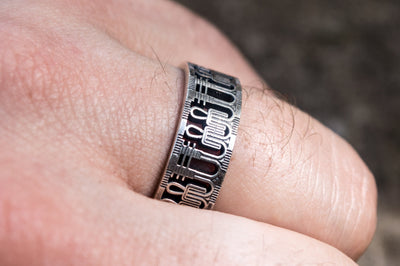 Egypt Sterling Silver Ring with Tyet Symbol Ancient Treasures Ancientreasures Viking Odin Thor Mjolnir Celtic Ancient Egypt Norse Norse Mythology