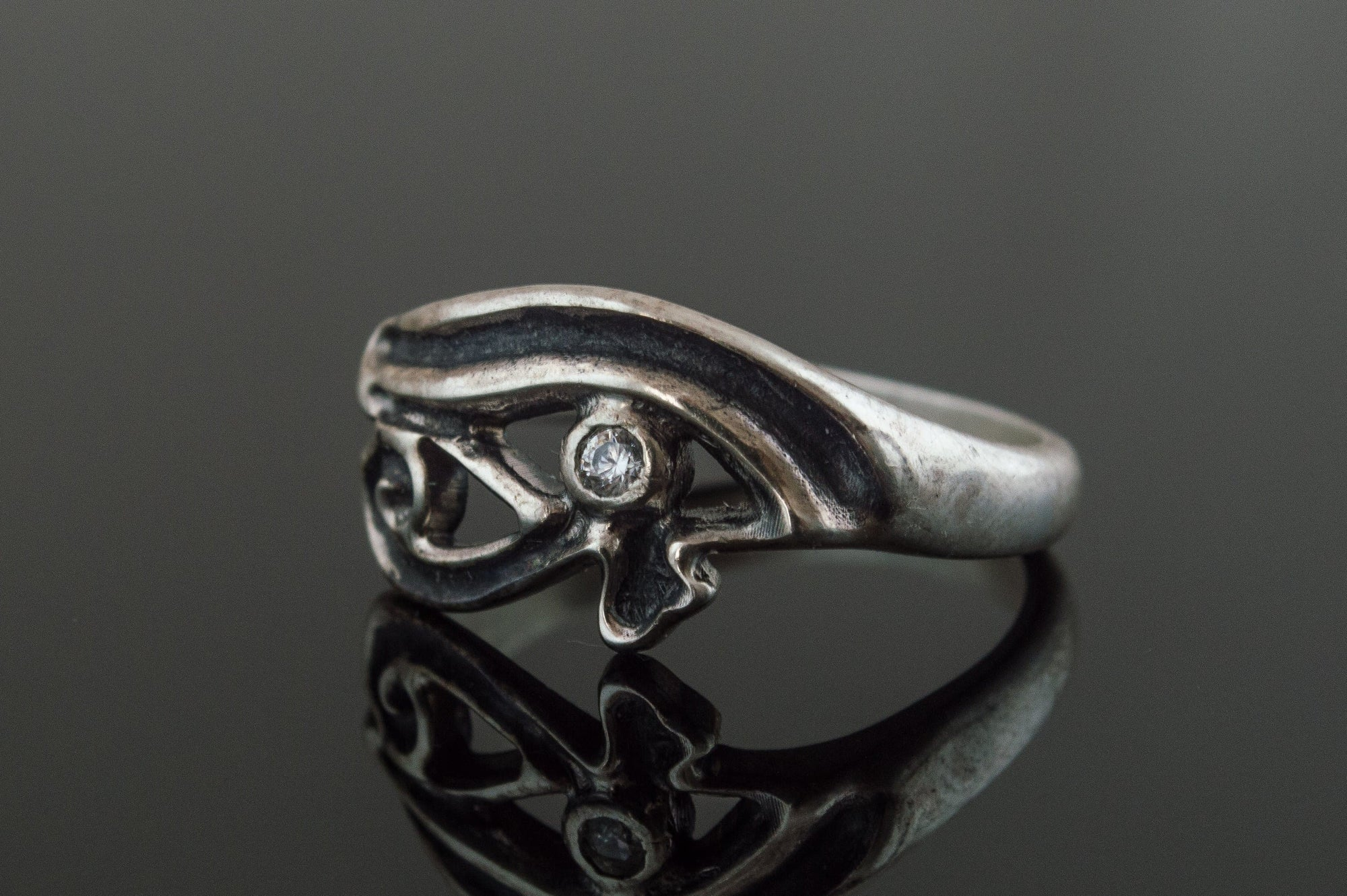 Egypt Sterling Silver Ring with Uajet Symbol Ancient Treasures Ancientreasures Viking Odin Thor Mjolnir Celtic Ancient Egypt Norse Norse Mythology