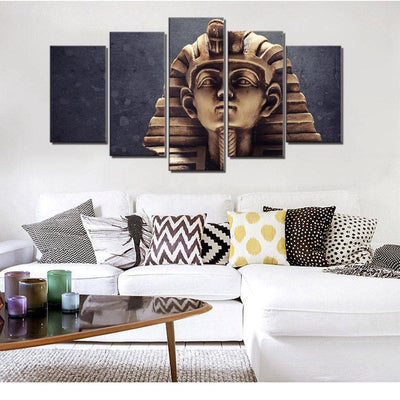 Egypt The Great Sphinx Canvas 5pcs Ancient Treasures Ancientreasures Viking Odin Thor Mjolnir Celtic Ancient Egypt Norse Norse Mythology
