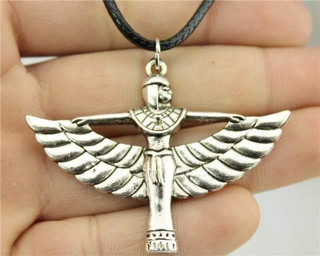 Egypt The Winged Goddess Necklace Ancient Treasures Ancientreasures Viking Odin Thor Mjolnir Celtic Ancient Egypt Norse Norse Mythology
