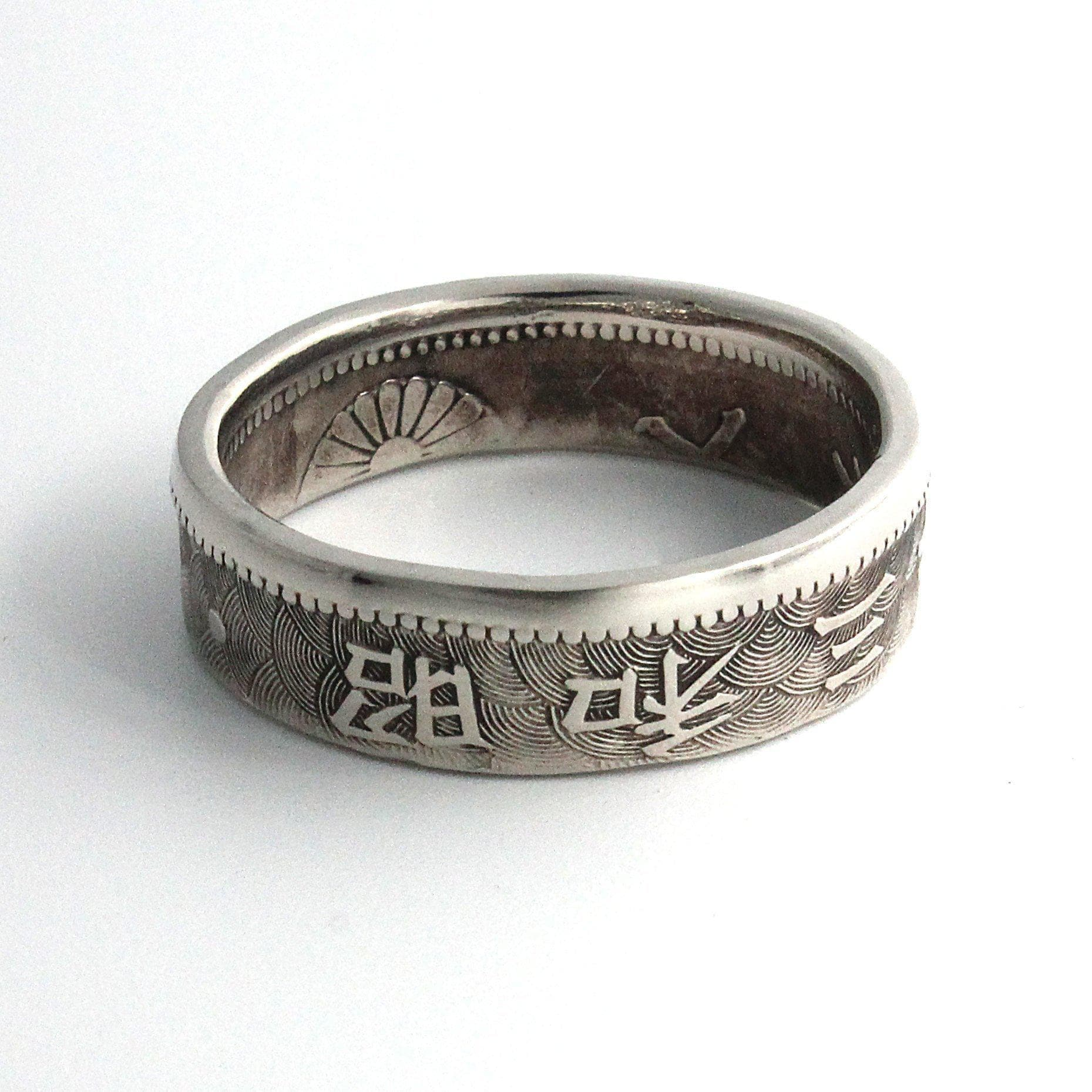 Feudal Japan Elegant Antique Coin Ring Ancient Treasures Ancientreasures Viking Odin Thor Mjolnir Celtic Ancient Egypt Norse Norse Mythology