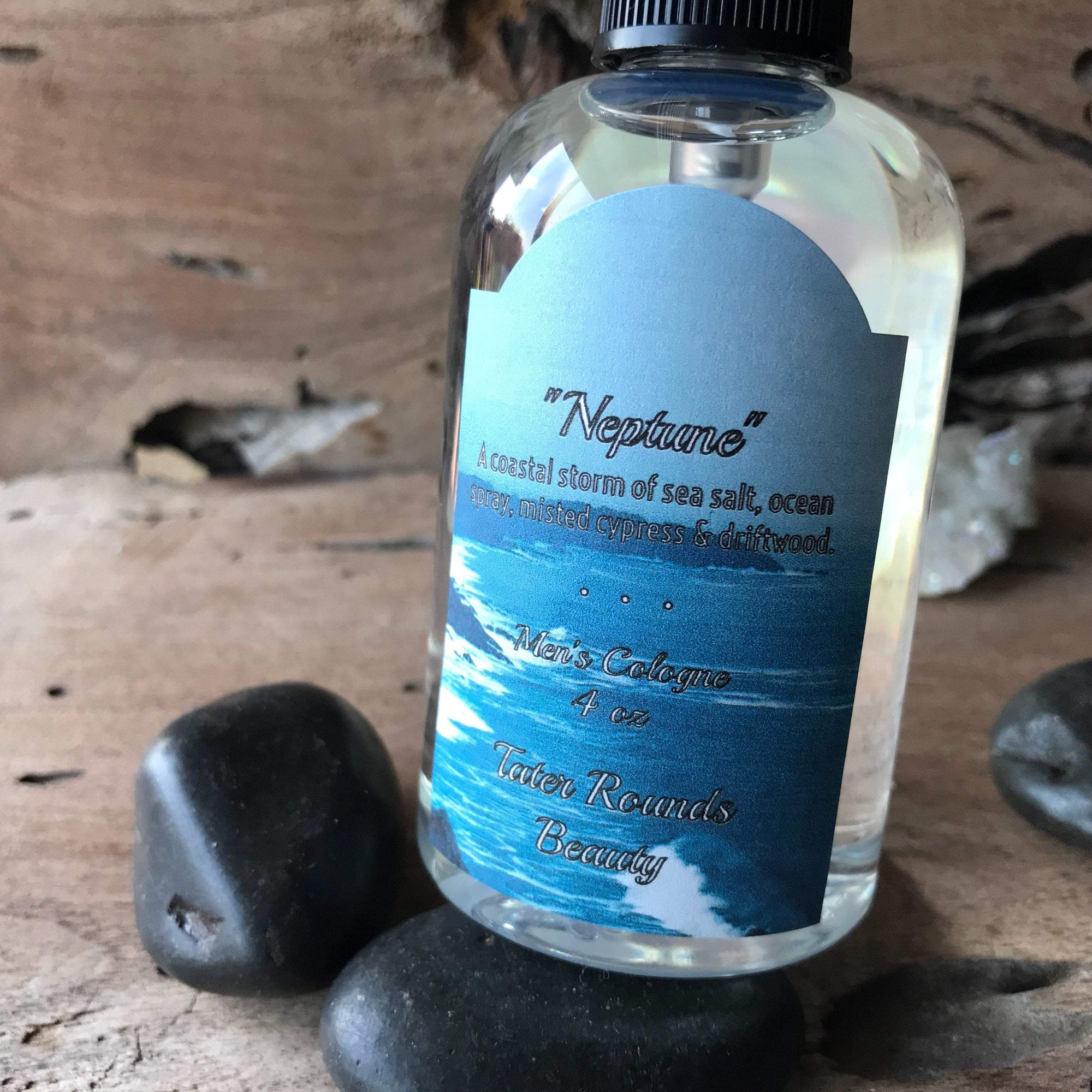 God of Sea Neptune - Men's Cologne and Perfume Ancient Treasures Ancientreasures Viking Odin Thor Mjolnir Celtic Ancient Egypt Norse Norse Mythology
