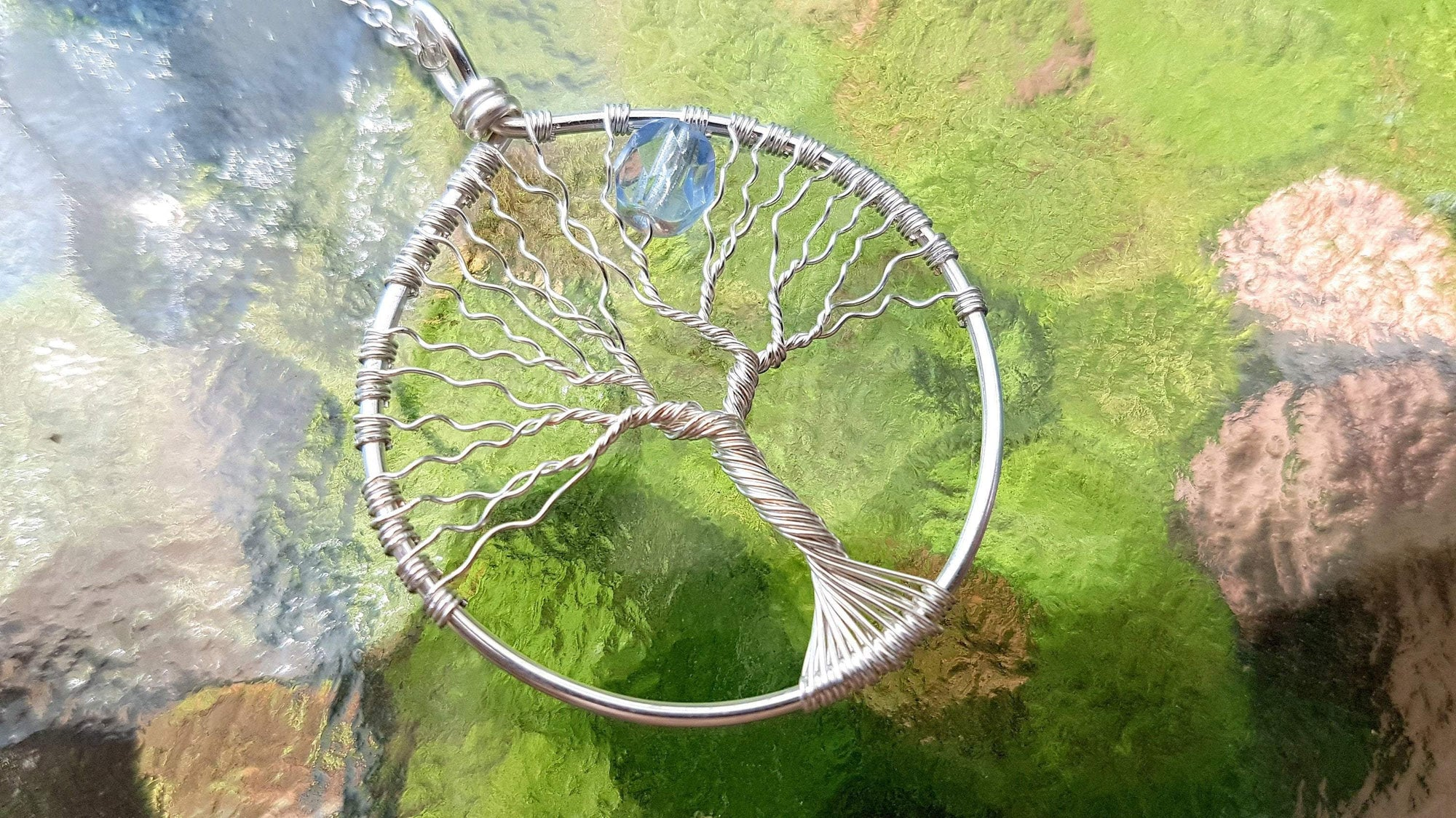 Wire Wrap Tree of Life Fantasy Tree Pendant