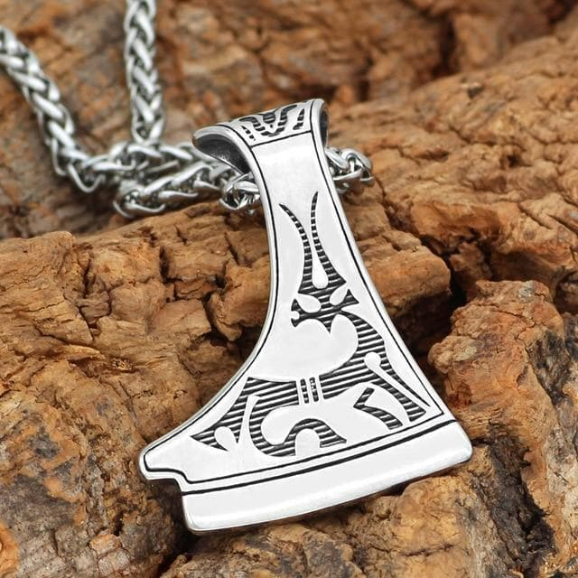 Home Metal-chain slavs Dukhobor Stainless steel amulet Deer necklace perun axe pendant necklace on AliExpress - 11.11_Double 11_Singles' Day Ancient Treasures Ancientreasures Viking Odin Thor Mjolnir Celtic Ancient Egypt Norse Norse Mythology
