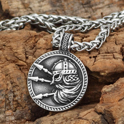Home Nordic viking odin amulet stainless steel Talisman Pendant necklace with viking gift bag on AliExpress - 11.11_Double 11_Singles' Day Ancient Treasures Ancientreasures Viking Odin Thor Mjolnir Celtic Ancient Egypt Norse Norse Mythology