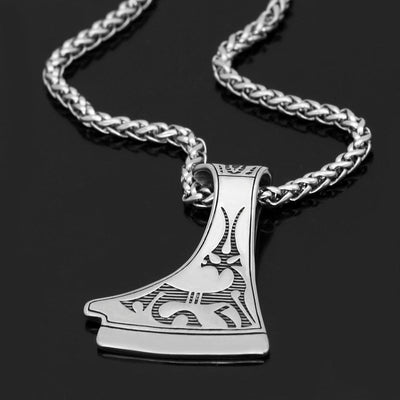 Home slavs Dukhobor Stainless steel amulet Deer necklace perun axe pendant necklace on AliExpress - 11.11_Double 11_Singles' Day Ancient Treasures Ancientreasures Viking Odin Thor Mjolnir Celtic Ancient Egypt Norse Norse Mythology