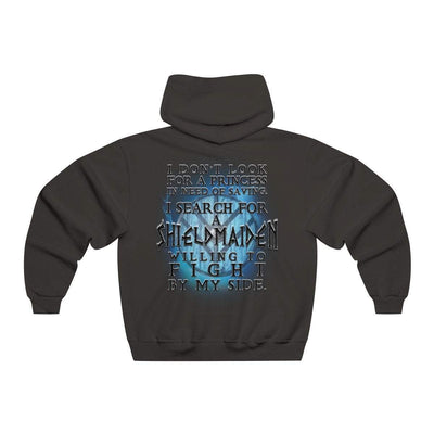 Hoodie Black / L I search for a Shieldmaiden Hoodie