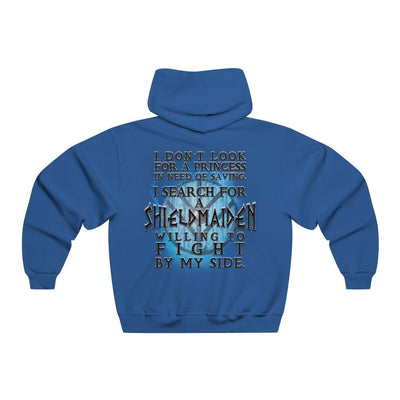 Hoodie Blue / S I search for a Shieldmaiden Hoodie