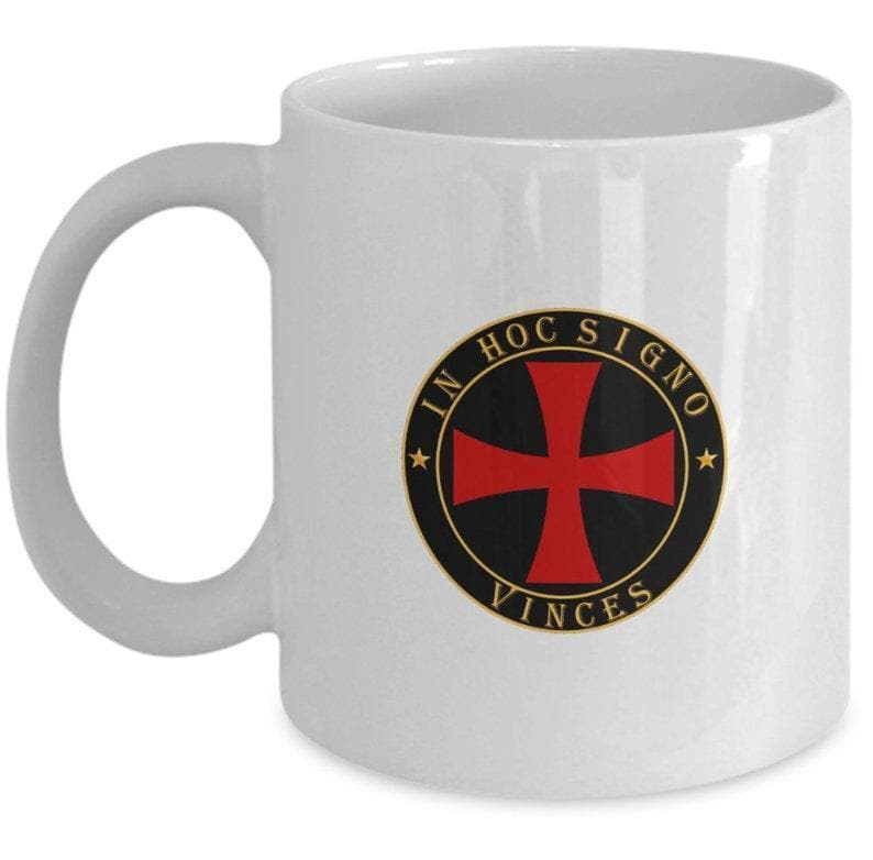 Templar Red Cross Coffee Mug