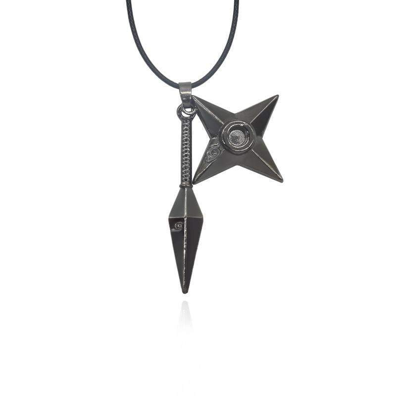 Naruto Ninja Shuriken Dart Necklace