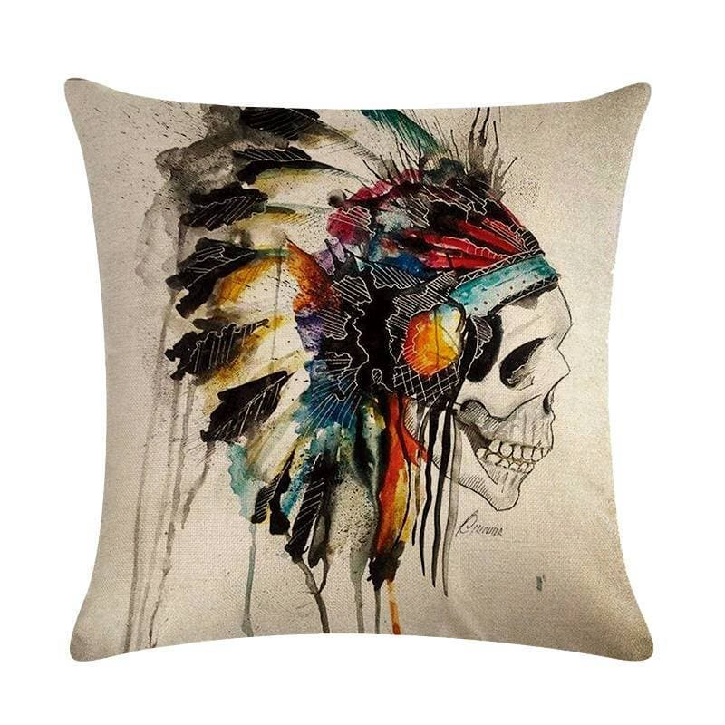 Native American 1 Native American Traditional Cushion Cover