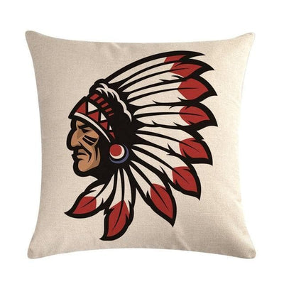 Native American 10 Native American Traditional Cushion Cover