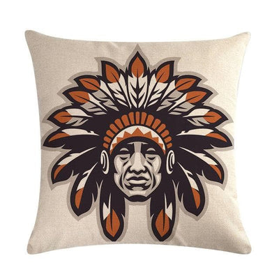 Native American 11 Native American Traditional Cushion Cover