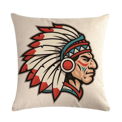 Native American 14 Native American Traditional Cushion Cover
