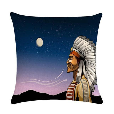 Native American 15 Native American Traditional Cushion Cover