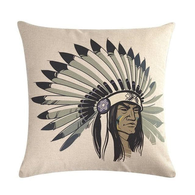 Native American 16 Native American Traditional Cushion Cover