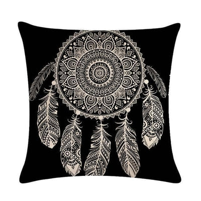 Native American 3 Native American Traditional Cushion Cover