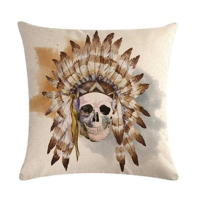 Native American 4 Native American Traditional Cushion Cover