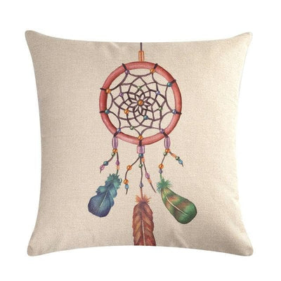 Native American 5 Native American Traditional Cushion Cover