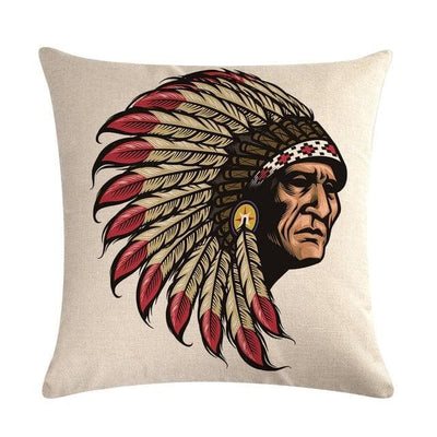 Native American 9 Native American Traditional Cushion Cover