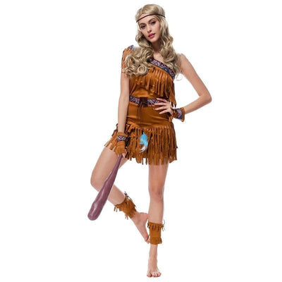 Native American Sexy Women Forest Hunter Costume