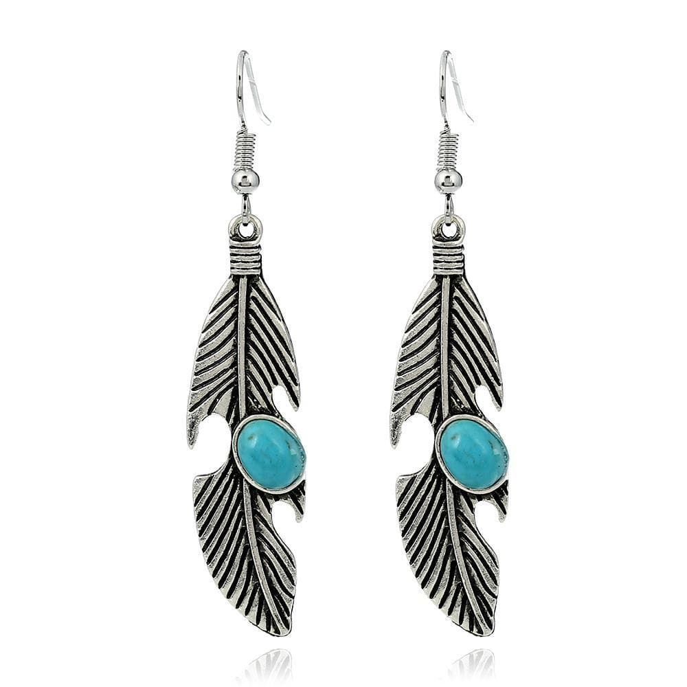 Native American Native American Feather Earrings