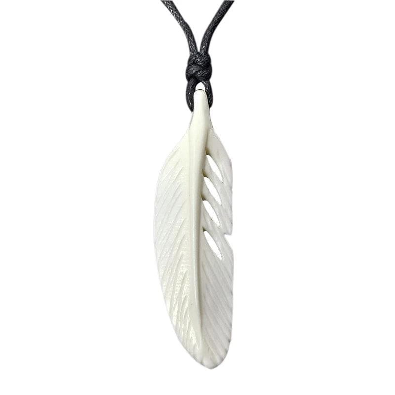 Native American Native American Feather Necklace