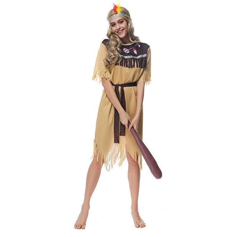 Native American Princess of Tribe Role-Playing Costume