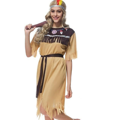 Native American Native American Princess of Tribe Role-Playing Costume