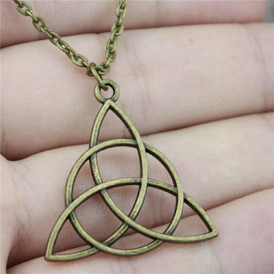 Necklace Triquetra Chain Necklace Ancient Treasures Ancientreasures Viking Odin Thor Mjolnir Celtic Ancient Egypt Norse Norse Mythology