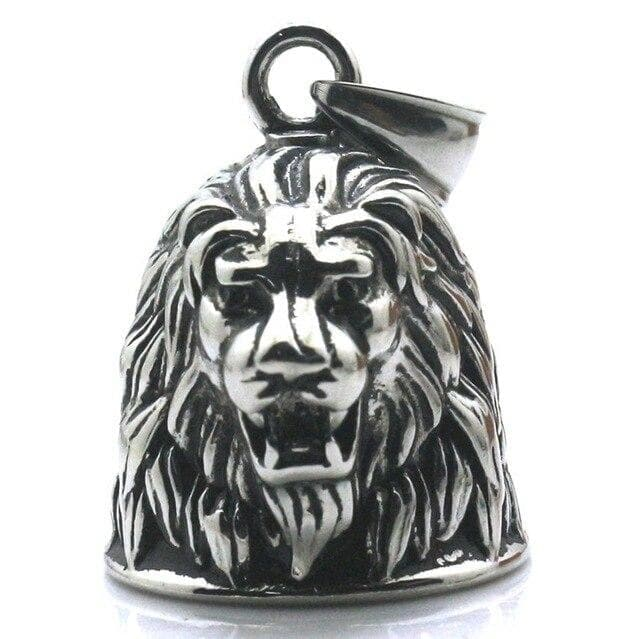 Pendant Necklaces Fashion Unisex Punk Cool King Lion Domineering Animal Rider Biker Bell Pendant Necklace|Pendant Necklaces| Ancient Treasures Ancientreasures Viking Odin Thor Mjolnir Celtic Ancient Egypt Norse Norse Mythology