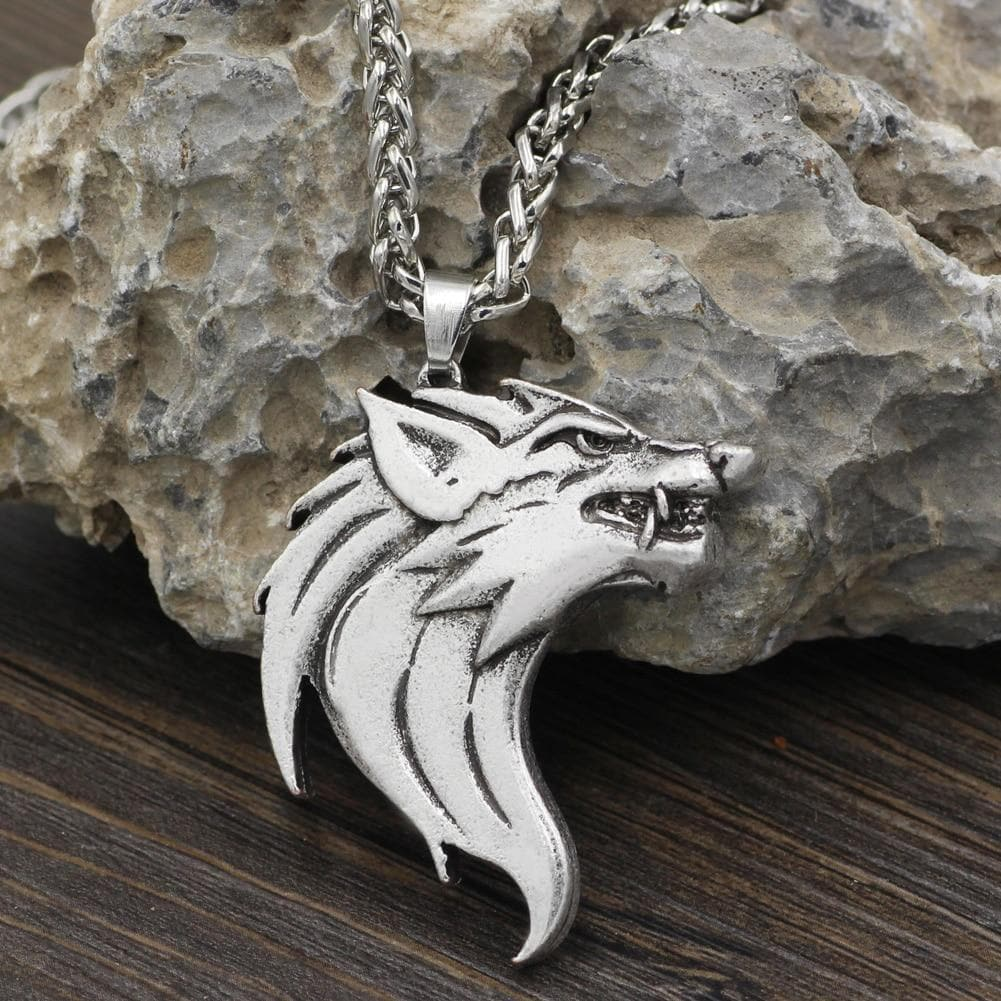 Viking Fenrir Amulet Necklace