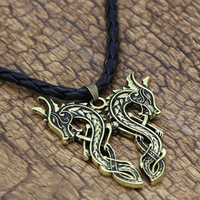 Pendant Necklaces Men Norse Viking Scandinavian  Pagan Pendant Necklace with Gift Bag Ancient Treasures Ancientreasures Viking Odin Thor Mjolnir Celtic Ancient Egypt Norse Norse Mythology