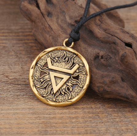 Pendant Necklaces Teamer Silver Color Veles Symbol Weles Slavic Wealth Talisman Pendant Ancient Talisman Pendant Round Jewelry Men Necklace|men necklace|pendant jewelrytalisman pendant Ancient Treasures Ancientreasures Viking Odin Thor Mjolnir Celtic Ancient Egypt Norse Norse Mythology