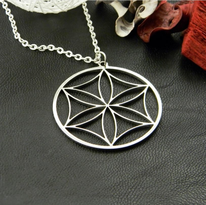 Pendants & Necklaces Ancient Greek Aphrodite's Flower Wheel of Perun Pendant and Necklace Ancient Treasures Ancientreasures Viking Odin Thor Mjolnir Celtic Ancient Egypt Norse Norse Mythology