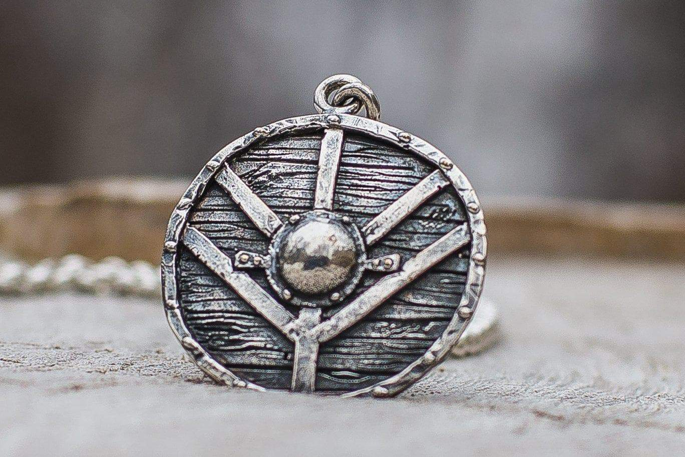 Vikings Lagertha's Shield Unique Handcrafted Pendant