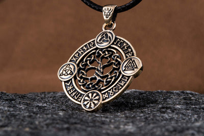 Pendants & Necklaces Sterling Silver Yggdrasil Viking Pendant Ancient Treasures Ancientreasures Viking Odin Thor Mjolnir Celtic Ancient Egypt Norse Norse Mythology