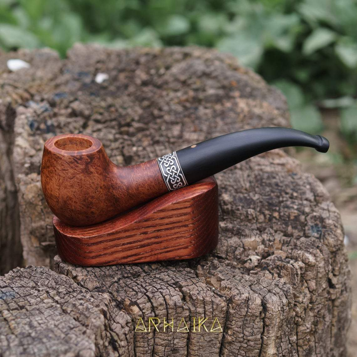 Pipe Celtic Briar Wooden Smoking Pipe Ancient Treasures Ancientreasures Viking Odin Thor Mjolnir Celtic Ancient Egypt Norse Norse Mythology