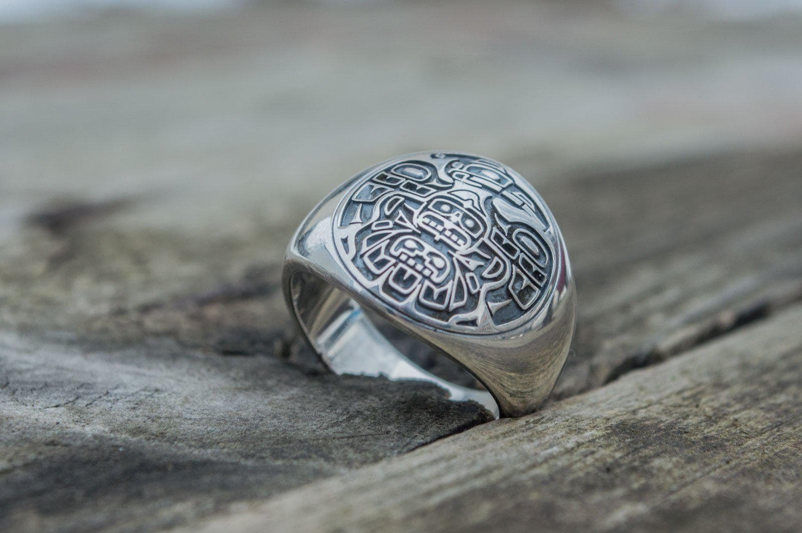 Rings Native American Sterling Silver Handcrafted Ring Ancient Treasures Ancientreasures Viking Odin Thor Mjolnir Celtic Ancient Egypt Norse Norse Mythology